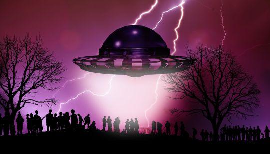 nachricht eines außerirdischen